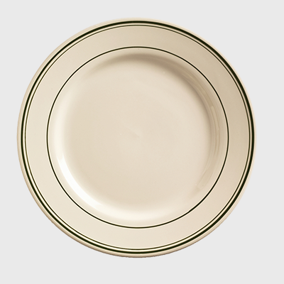 "World Tableware Viceroy Plate Cream White Stoneware 6-5/8"" - 36/Case"