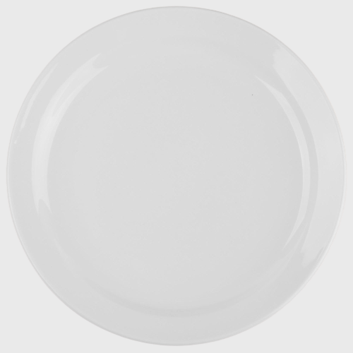 "World Tableware Porcelana™ Plate Narrow Rim Bright White Porcelain 7-1/4"" - 36/Case"