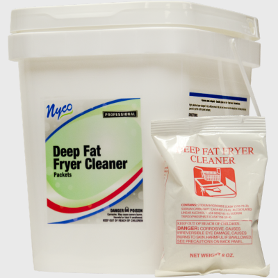 Nyco Products Deep Fat Fryer Cleaner - 18 Packets/Case