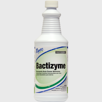 Nyco Products Bactizyme Bioenzymatic Drain Cleaner/Maintainer - 12/Case