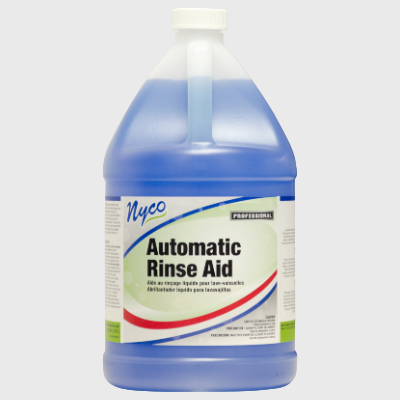 Nyco Products Automatic Rinse Aid Concentrated Rinse & Drying Agent - 4 Gallons/Case