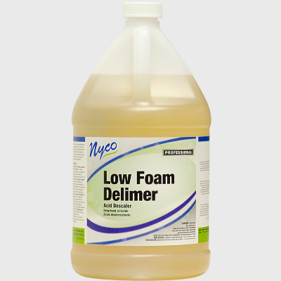 Nyco Products Low Foam Delimer Acid Descaler & Cleaner - 4/Case