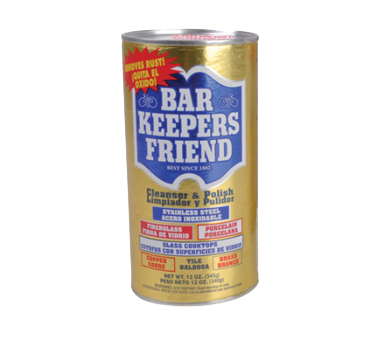 BK Resources Bar Keepers Friend Stainless Steel Cleaner 12 oz