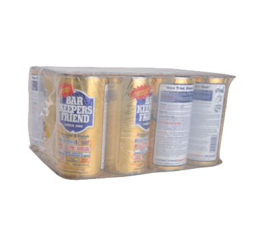 BK Resources Bar Keepers Friend Stainless Steel Cleaner Case 12 oz