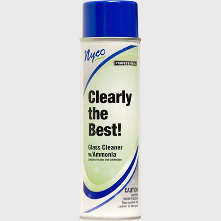 Nyco Products Clearly The Best! Glass Cleaner - 12 Cans/Case