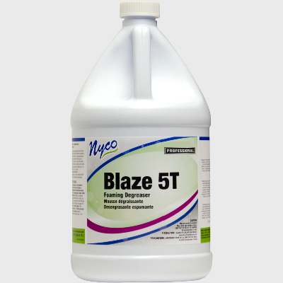 Nyco Products Blaze 5T Foaming Degreaser - 4 Gallons/Case