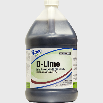 Nyco Products D-Lime Scale Remover with RD-188 Inhibitor - 4/Case