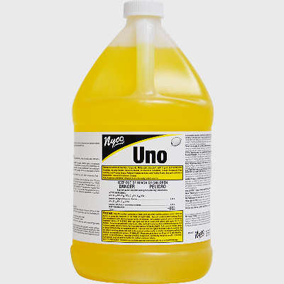 Nyco Products UNO (Lemon) Cleaner/Deodorizer - 4 Gallons/Case
