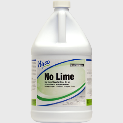 Nyco Products No Lime Bar Glass Wash For Hard Water - 4/Case