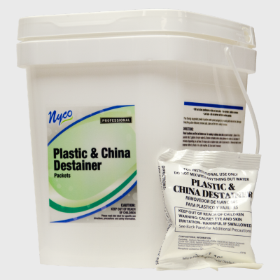 Nyco Products Plastic & China Destainer Packets  - 35/Case