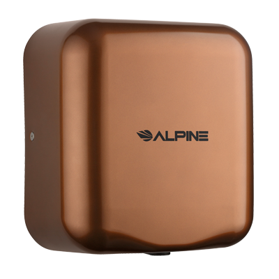Alpine Industries Stainless Steel Hand Dryer Coffee Finish