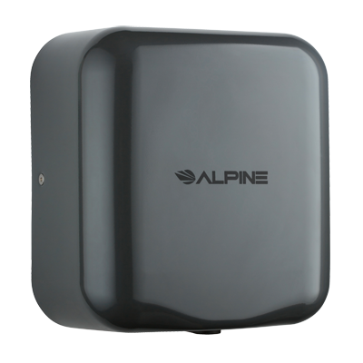 Alpine Industries Stainless Steel Hemlock Hand Dryer Gray Finish