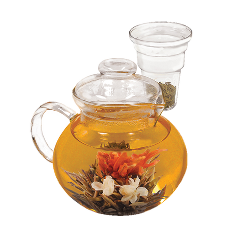 superior-equipment-supply - Harold Imports - HIC Primula Borosilicate 40 oz. Glass Teapot