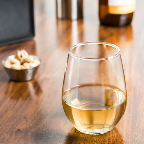 Libbey Stemless White Wine Glass 12 oz. - 12/Case