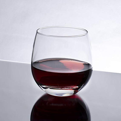 Libbey Stemless Red Wine Glass 15 oz. - 12/Case
