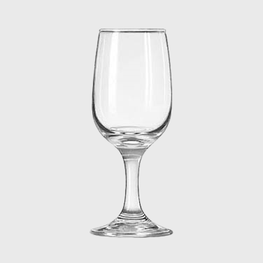 Libbey Embassy Wine Glass All Purpose 6.5 oz. - 36/Case