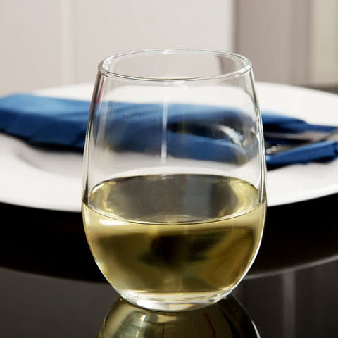 Libbey Stemless White Wine Glass 9 oz - 12/Case