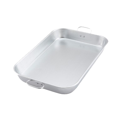 "Winco Bake Pan w/ Drop Handle  17-3/4"" x 11-1/2"" X 2-1/4"""