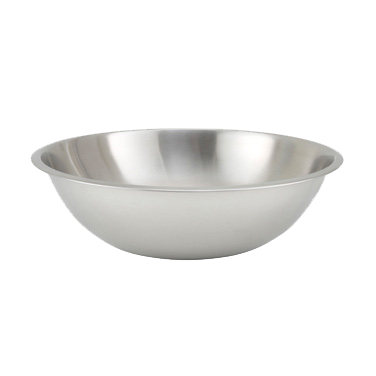 "Stainless Steel Heavy Duty Mixing Bowl 13-1/4"" Diameter 8 Quart"