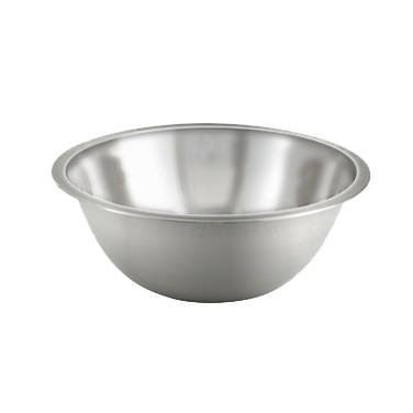 Stainless Steel Economy Mixing Bowl 4 Quart