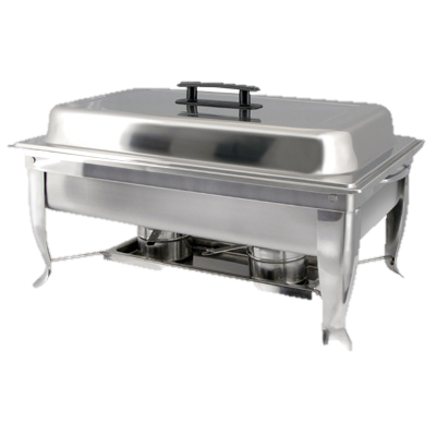 superior-equipment-supply - Winco - Bellair Chafer Stainless Steel 8 Qt. Full Size