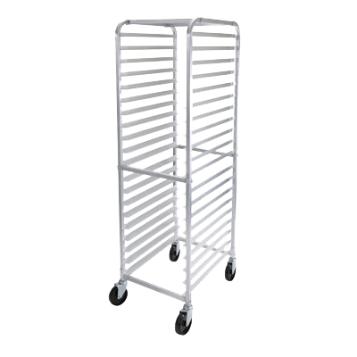 "superior-equipment-supply - Winco - Winco Aluminum Mobile Sheet Pan Rack Four 5"" Casters"