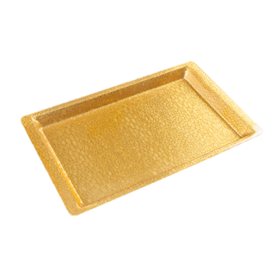 Winco Display Tray Gold