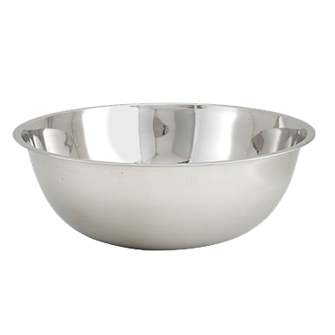 Stainless Steel Economy Mixing Bowl 13 Quart