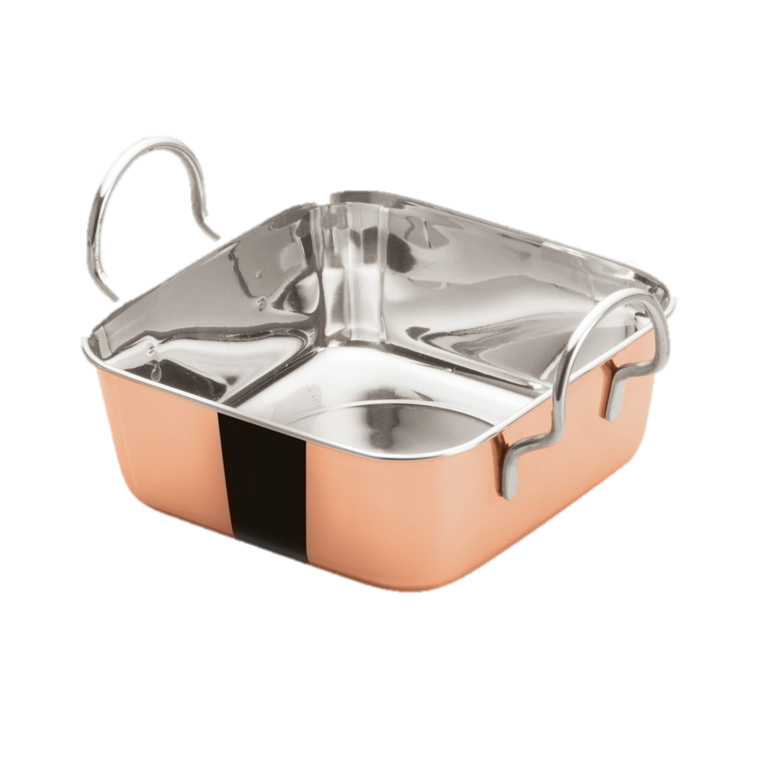 superior-equipment-supply - Winco - Mini Roasting Pan Copper Plated 5-3/16""