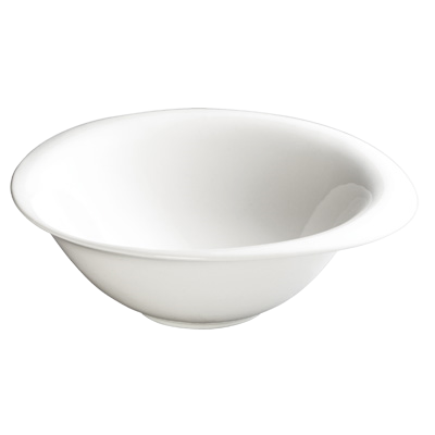 "Bowl 20 oz. Creamy White Porcelain 8"" - 24 Bowls/Case"