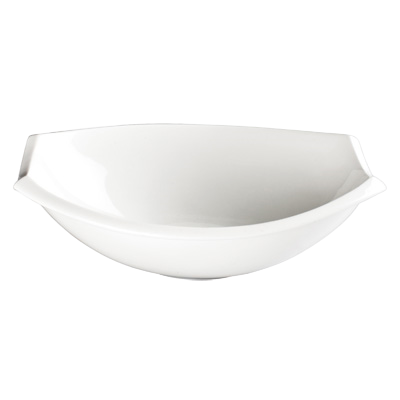 "Bowl 6 oz. Creamy White Porcelain 8"" - 36 Bowls/Case"