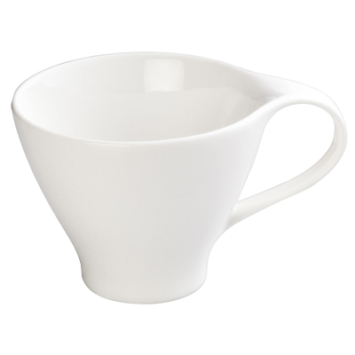 "Coffee Cup 6 oz. Creamy White Porcelain 3-1/2"" Diameter - 36 Cups/Case"