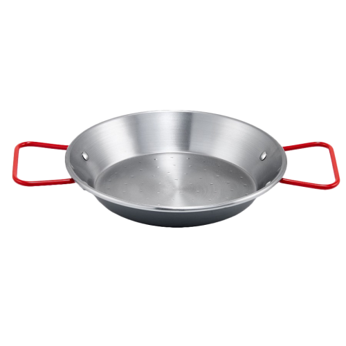 "Paella Pan Polished Carbon Steel 14-1/8"" Diameter"