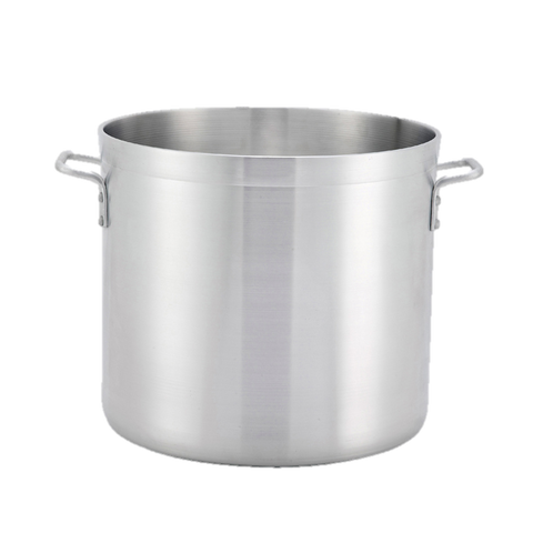 "Winco Aluminum Stock Pot 120qt  21-3/4"" x 19-1/2"""