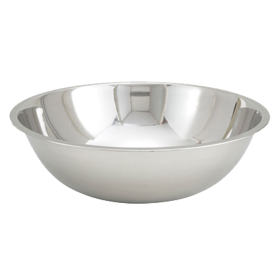 "Stainless Steel Heavy Duty 16-3/8"" Diameter Mixing Bowl 13 Quart"
