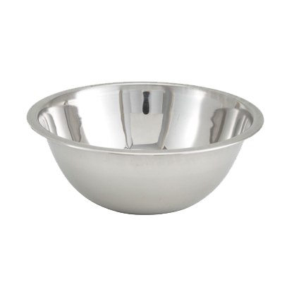 "Stainless Steel Mixing Bowl 3/4 Quart 6-3/8"" Diameter"