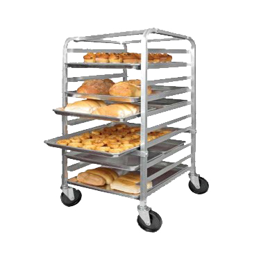 "superior-equipment-supply - Winco - Winco Aluminum Mobile Sheet Pan Rack 38"" Tall"