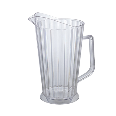 Beer Pitcher Clear Polycarbonate 60 oz.