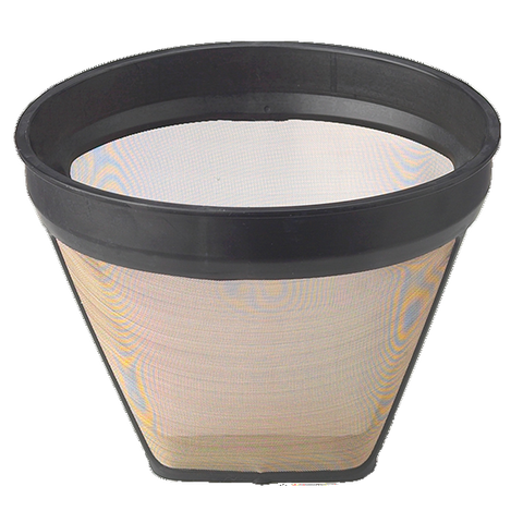 HIC Coffee Filter #4 Gold Tone