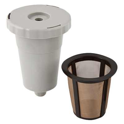 HIC Gold Tone Coffee Filter Starter Pack