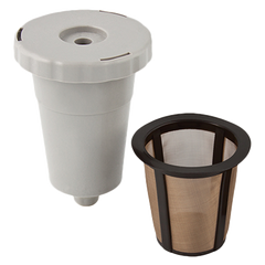 superior-equipment-supply - Harold Imports - HIC Gold Tone Coffee Filter Starter Pack