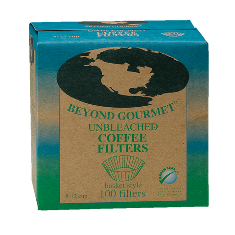 HIC Unbleached Coffee Filters