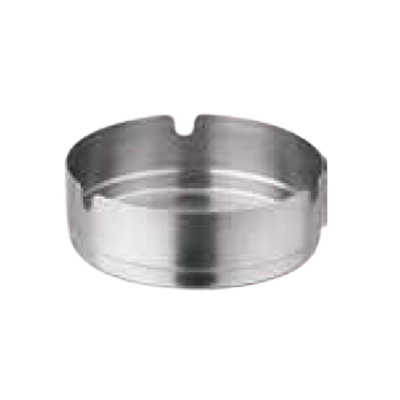 "Ash Tray Round Stainless Steel 4"" Diameter"
