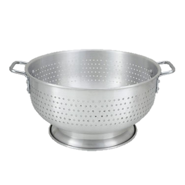 "Winco Colander With Base 8 qt 12"" dia. x 5""H"