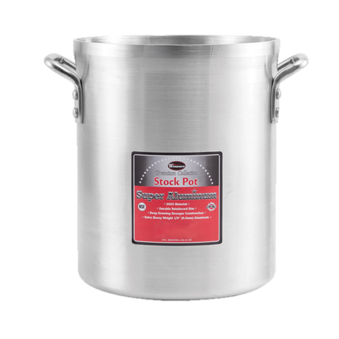 Winco Stock Pot Aluminum 12 qt