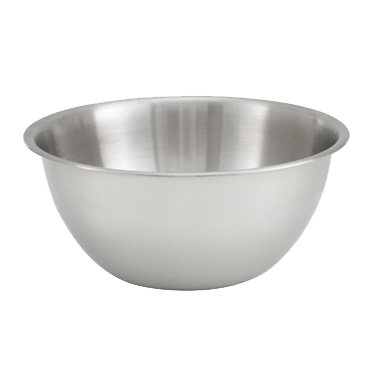 Heavy Duty Stainless Steel Mixing Bowl 3 Quart Superior Equipment