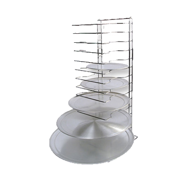 "superior-equipment-supply - Winco - Winco Pizza Rack 12"" x 12"" Base 15-Tier"