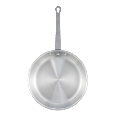 "Winco Aluminum Alloy Gladiator™ Fry Pan 10"" Diameter Uncoated"