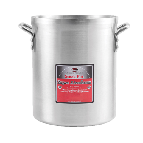 Winco Heavy Aluminum Stock Pot 60 qt