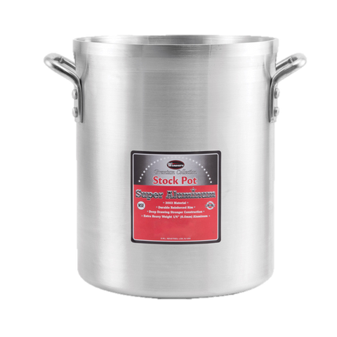 Winco Aluminum Stock Pot 80 qt